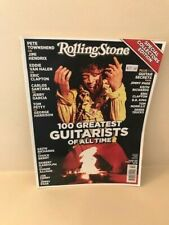 ROLLING STONE MAGAZINE 100 GREATEST GUITARISTS OF ALL TIME OCTOBER 2012