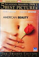 American Beauty Dvd Kevin Spacey Annette Bening Chris Cooper Mena Suvari 1999