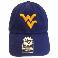 West Virginia Mountaineers WVU '47 Brand Franchise (LP) L Fitted Cap Hat $30