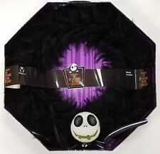 "Tim Burton's Nightmare Before Christmas BLACK FEATHER 19"" WREATH Disney Store"