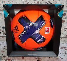 Neu Adidas Matchball Bundesliga Torfabrik Winter 2017/18 Ballon Football Pallone