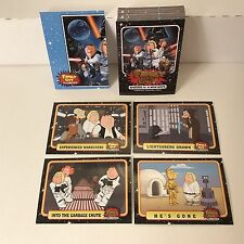 Family Guy: Star Wars Episode Iv A New Hope Parody Complete Card Set w/ Promo P1