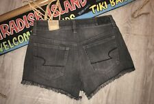 American Eagle Hi-Rise Festival Distressed 10 Shorts Vintage Denim NEW