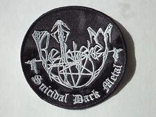 BETHLEHEM SUICIDAL DARK  METAL EMBROIDERED PATCH