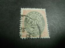 Iceland 1875 Scott 31 Used Cds