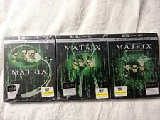 New ListingThe Matrix Trilogy 4K (Best Buy Exclusive) Steelbooks 4K Uhd
