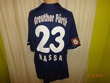 SpVgg Greuther Fürth Nike Ausweich Matchworn Trikot 2001/02 + Nr.23 Hassa Gr.XL