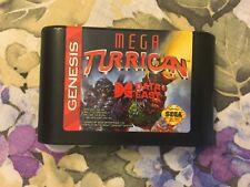 Mega Turrican for the Sega Genesis - Authentic, Tested