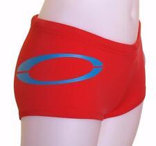 Bnwt Women's Oakley Handle Stretch Bikini Bottoms Large New Swim Surf Ruby Red