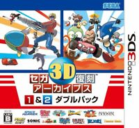 Sega 3D reprinted Archives 1 & 2 Double Pack