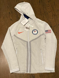 New Nike PARALYMPIC Olympic TEAM USA Tech Pack Men's Jacket Sm CT2801-043