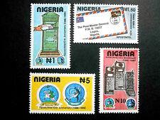 Nigeria 1995 10th Anniversary of NIPOST & NITEL SG 687-690 MNH; Post & Telecoms