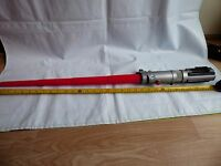 Hasbro  Star Wars Red Expandable Light Saber Darth Vader Maul Skywalker Costume