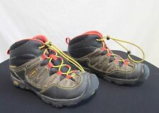 Keen  Brown, Red, Yellow Hiking Trail Boots Womens Sz 4