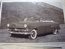 1954 FORD CONVERTIBLE  11 X 17  PHOTO   PICTURE