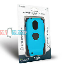 Trident Aegis Blue Case Cover for Samsung Galaxy S 2 II D710 Epic 4G Touch R760