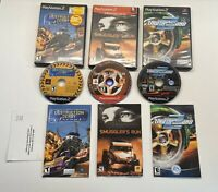 Playstation 2 Destruction Derby, Smuggler's Run & Need For Speed Underground 2