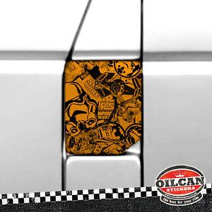 Transporter T5 fuel flap wrap orange star wars stickerbomb oilcan original o