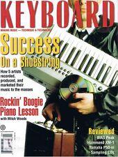1997 Yamaha 950-m & Hammond XM-1 Drawbar Organ Module Reviews, Keyboard Magazine
