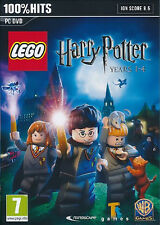 LEGO Harry Potter Years 1-4 ( PC-DVD) NEW SEALED