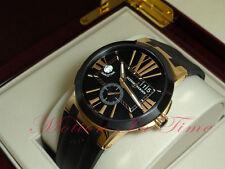 Ulysse Nardin Executive Dual Time 18kt Rose Gold 43mm Black Dial Ref:246-00-3/42