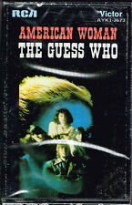 AMERICAN WOMAN - THE GUESS WHO (Cassette) BRAND NEW FACTORY FRESH