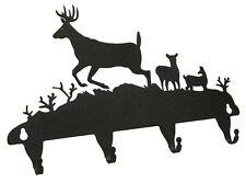 Buck Deer Key Hooks Side View - Keyhook - Hook - Keys - Holder
