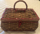 Vintage+Sewing+Basket+Music+Box++%28working%29+With+Contents+Estate+Japan