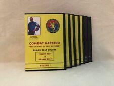 COMBAT HAPKIDO Black Belt/Master Course (7) DVD Set