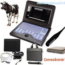 Notebook Vet Veterinary B-ultrasound Diagnostic System,Rectal Lineaer+Convex USA