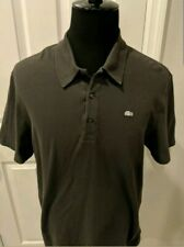 Lacoste Silver Tag Size 7 Polo Shirt Mens