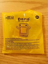 "3 1/4"" DOMO BROWN PICTURE FRAME Factory Sealed 2010 Taco Bell Happy Meal Toy NOS"