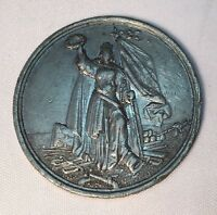 1863 GERMANY BATTLE OF LEIPZIG 50TH ANNIVERSARY REMEMBRANCE 38 MM MEDAL