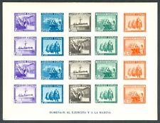 ESPAÑA - AÑO 1938 - EDIFIL 850** - HB. EN HONOR DEL EJÉRCITO Y LA MARINA - MNH