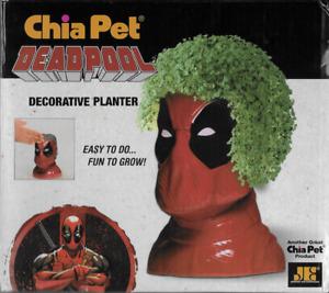 DEADPOOL Chia Pet Decorative Mercenary Ninja Planter New and Unused Marvel 2018