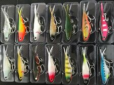 8x Mullet TransAm Lures Soft Vibe 95mm 20g Fishing Lure Plastics Jew Jack Bass