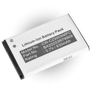 Battery for Creative Labs DAABA0009 Zen MicroPhoto 8GB Digital Radio MP3 Player