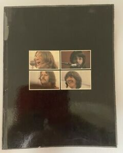 The Beatles Original 1969 Get Back Full Gloss Book~From The Let It Be Album~VG