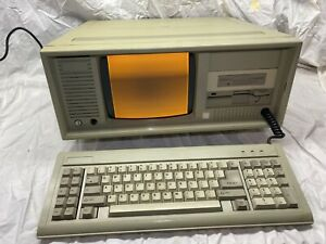 Vintage Portable PC Computer w/ Carrying Case