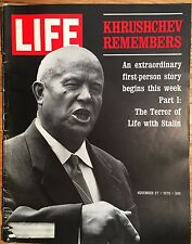 LIFE MAGAZINE Nov 27 1970 * Khrushchev Remembers* Ethiopia * East Pakistan Storm