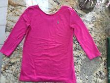 Polo Ralph Lauren girls shirt 3/4 sleeve L 12-14