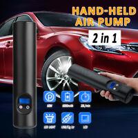 Wireless Tyre Tire Inflator Portable Compressor Digital Car Air Pump