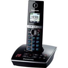 Panasonic KX-TG8061GB Schwarz-Klavierlack DECT Schnurlos-Telefon strahlungsarm