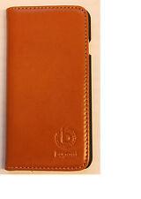 Original Bugatti Oslo cognac Book Case Schutzhülle Iphone 6 Plus 6 Plus braun