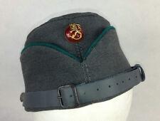 WW2 Finnish Stone Grey Gabardine Officer Side Cap Without Badge
