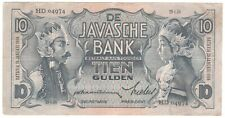 Netherlands Indies 10 Gulden 1934 P-79a