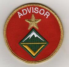 "Unit Leader Award of Merit Advisor (Venture Scouts) Patch, ""Scout Stuff"" Back"