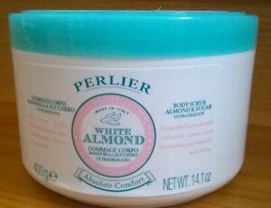 Perlier White Almond Body Scrub * Shower Soap * brand new * fast shipping