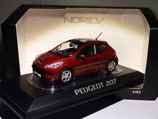 Norev Peugeot 207 (472792) Échelle 1:43 Erythree Rouge