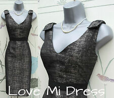 M&S Secret Support Evening Shift Dress  Sz 8 EU36   Magicwear!    Bodysculpt!
